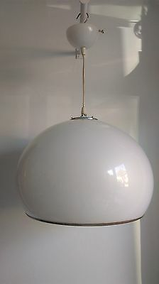 lustre suspension lamp bud harvey guzzini blanche  light