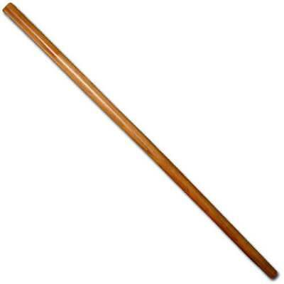 Bo - Untapered 5ft red oak bo staff Japanese Martial Arts Training weapon