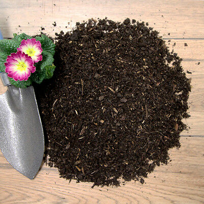 Composted Bark Mulch Fines for Borders & Beds, Jumbo cu mtr Bulk Bag