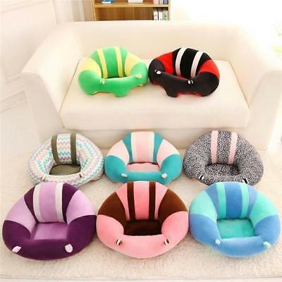 Lovely Baby Support Seat Cushion Sofa Children Soft Car Pillow Plush Toys Gift F