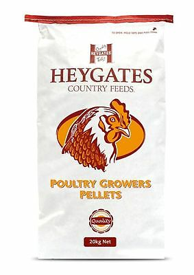 New High Quality Heygates Poultry Growers Pellets Poultry Feed 20kg