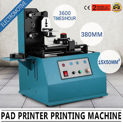 TDY-300C Pad Printer Printing Machine Electromotive Adjustable Square Plate