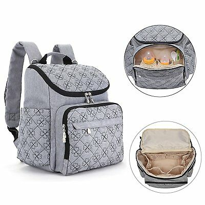 Large Nappy Changing Backpack,Baby Diaper Bag with Waterproof Changing Mat,Stron