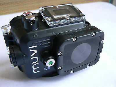 Veho Muvi K2 Action Cam Waterproof Housing With Both Rear Covers Brand New!