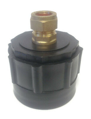 IBC Tank connector With Brass Compression Fitting For Copper Pipe