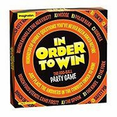 In Order To Win The Oddball Party Game! Ages 8+ Imagination Put Answers In Order