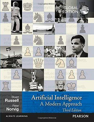Artificial Intelligence: A Modern Approach  by Stuart Russell New Paperback Book