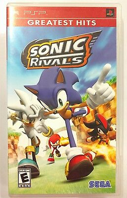 Sonic Rivals (Sony PSP, 2006) Used Very Good Condition!