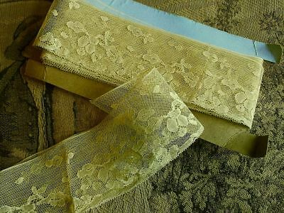 Vintage French Gold Color Lace - 5.8 metres