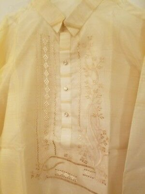 Barong Tagalog with lining XXL