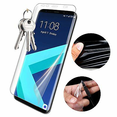 For Samsung Galaxy S8 / S8 Plus Full Coverage Clear TPU Screen Protector Film