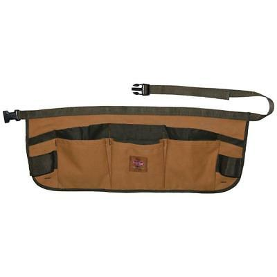 """Bucket Boss 23"""" Brown Canvas Duckwear for Small Tools Storage Waist Apron Holder"""