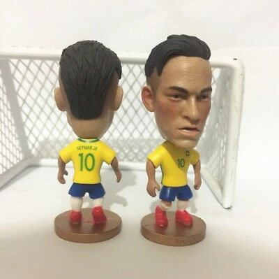 Neymar Jr. Action Figure Soccer Football Brazil PSG Like Soccerstarz UK SELLER