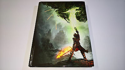 Dragon Age Inquisition Collector's Edition Strategy Guide Book Hardcover + Map