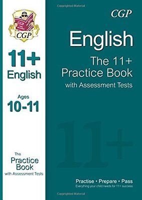 11+ English Practice Book with Assessment Tests  by CGP Books New Paperback Book