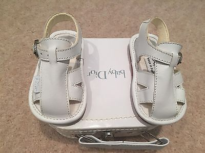 Baby Dior Shoes Sandals Size 17 New In Box