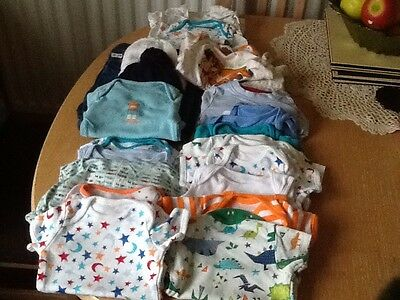Fabulous Baby Boys  Big Bundle of Clothes - Up to 3 months Plus Blanket (new)