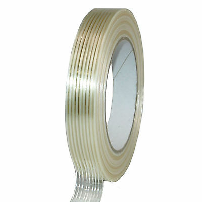Glass-Fiber Filament 19mm x 50m Glass Fibre Tape Packing Tape Transparent