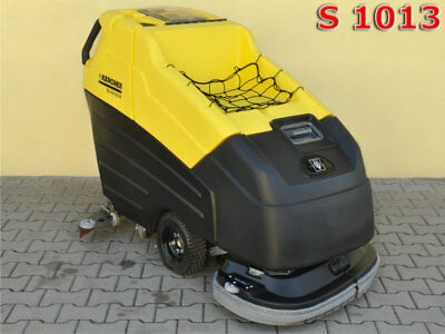 KARCHER BD 80/120 W / 2009 yr 19 mth New Gel Batteries Sonnenschein 3800£ 0% TAX