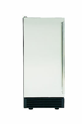REFURB Maxx Ice Energy Star Built-In 60Lb Clear Ice Maker w/ Drain Pump - MIM50P