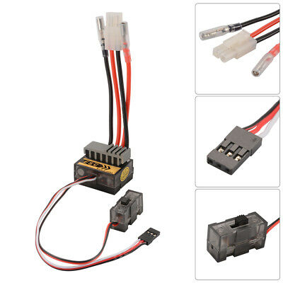320A Brush Speed Controller ESC 1/8 1/10 Reverse for Buggy Car Boat Truck RC630