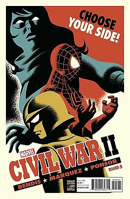 Marvel Civil War 2 Ii #5 Michael Cho Variant 1St Print Comic Nm  2016