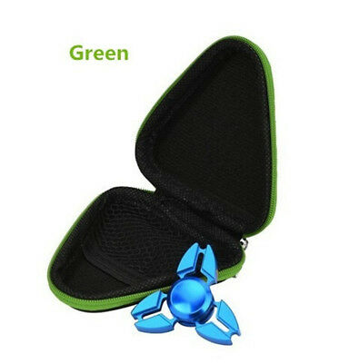Just Box ! Dustproof Box Case For Hand Spinner EDC Fidget Spinner Gyro Toy Green