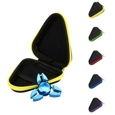 Just Box ! Dustproof Box Case For Hand Spinner EDC Fidget Spinner Toy #Purple