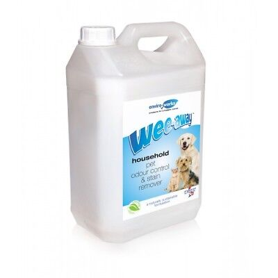 5L Wee Away Household Pet Odour Control & Stain Remover for Dogs Cats & Animals