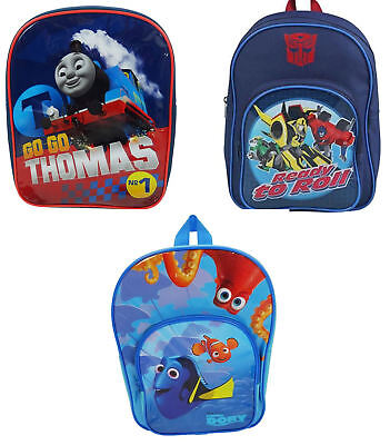 Childrens  Backpack / Rucksack / School Bag : Thomas, Dory or Transformers