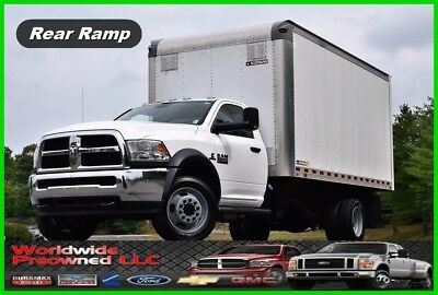 2015 Dodge Ram 5500 HD Regular Cab 16ft Box Truck 6.7L Cummins Diesel Morgan