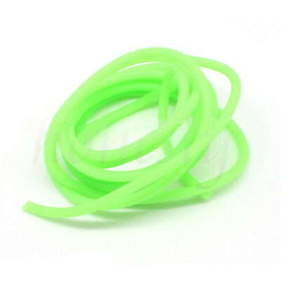 2mm Diameter Silicone Light Luminous Line Glow Tubing Fishing Wire Rope Green 2M