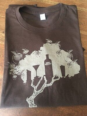 NEW Absolut Vodka Orient Apple Shirt Men's Medium I11