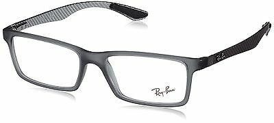Ray-Ban RX8901 5263 Authentic Designer Spectacle Frame & Case black / grey new