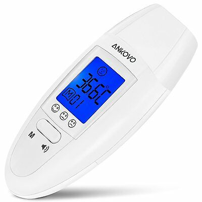 ANKOVO Medical Ear Thermometer with Forehead Function-1 Second Quick Read,High