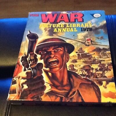 the war picture library annual 1979 -hardback