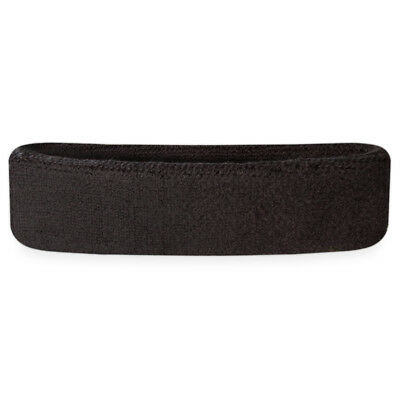 Suddora Headbands - Athletic Cotton Terry Cloth Head Sweatband for Sports