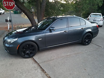 2008 BMW 5-Series 535xi With Navigation 2008 BMW 5 Series with sport suspension and cold weather package