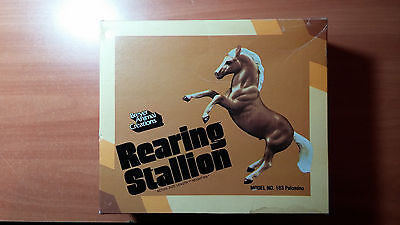 Breyer Animal Creations hand painted Rearing Stallion Model No. 183 with box