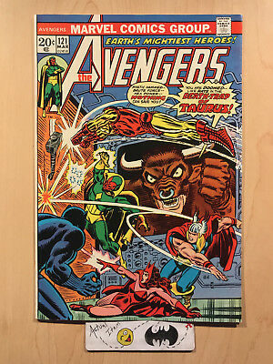 Avengers #121 (9.2-9.4) NM 1974 Bronze Age Key Issue