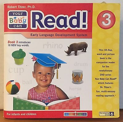Your Baby Can Read! Early Language Development System Lift-a-flap Book 3