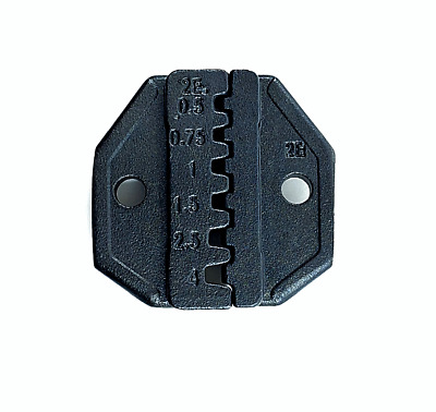 Ratchet Crimp Tool Die HT-2E Pin Terminal, Insulated or Non-insulated Ferrules