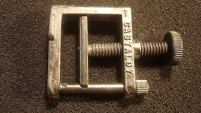 "Vintage Fisher Castaloy Clamp, 1 1/4"" X 1 1/8"""