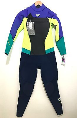NEW Roxy Womens Full Wetsuit Chest Zip Syncro 3 2mm NWT Size 14 - Retail 0fcc878d2