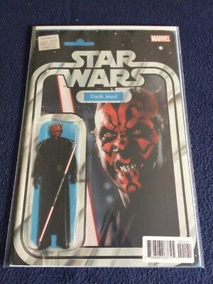 Star Wars Darth Maul # 1 Action Figure Variant Cover Marvel Comics NM 2017