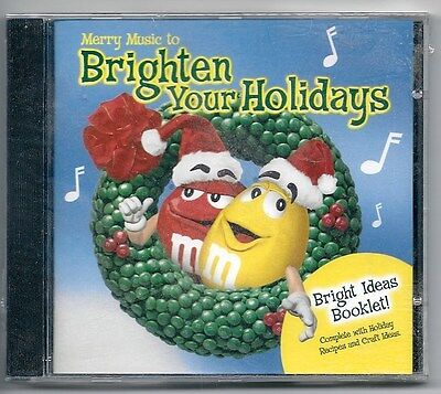 Cd M&m Mars Merry Music To Brighten Your Holidays 2000 Bmg Idea Booklet 2000