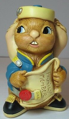 Pendelfin Rabbit Figurine --- BUTTONS (UK)  Brand New in Box  Free USA Shipping