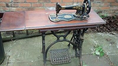 Antique Murton & Varley Treddle Sewing Machine