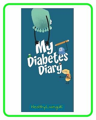 Diabetic Diary For Children - 137 Pages -Store Blood Glucose Results - Essential