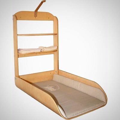 Wall Mounted Baby Changing Table Unit Changer Nappy